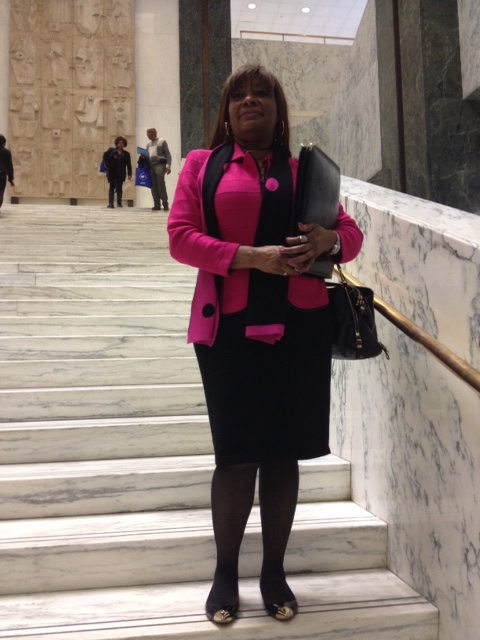 Dr. Fowler in Albany lobbying Lawmakers