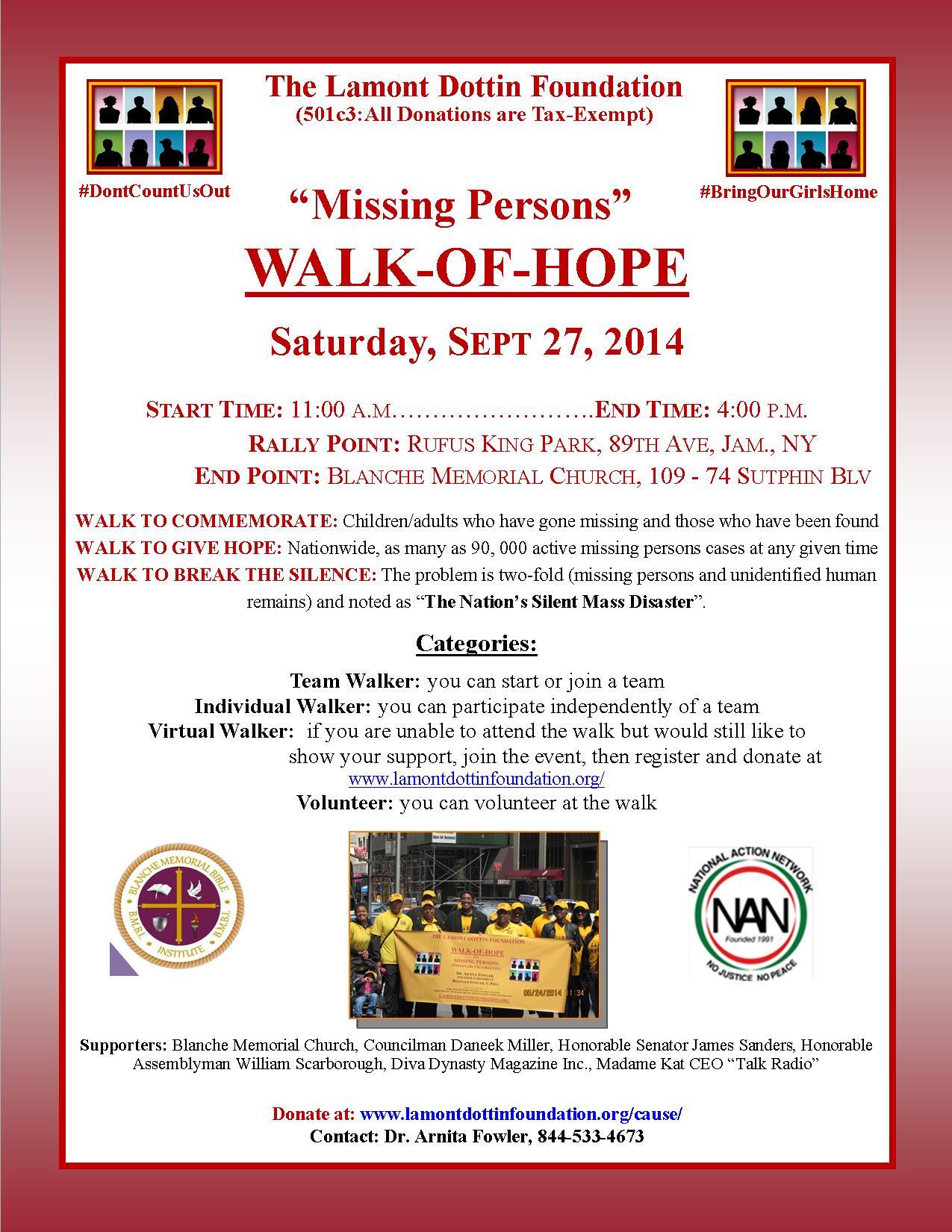Current Sept walk of hope 4